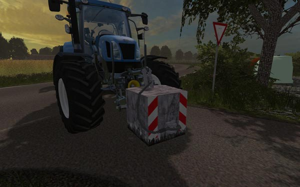 850KG Concrete Weight