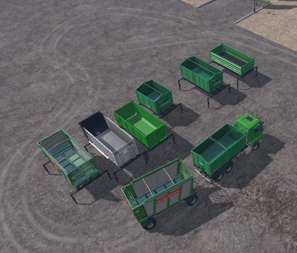 AR Container and troughs