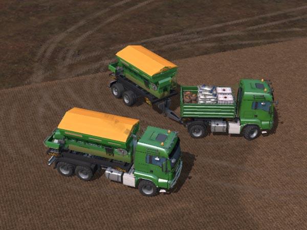 AR fertilizers and spraying