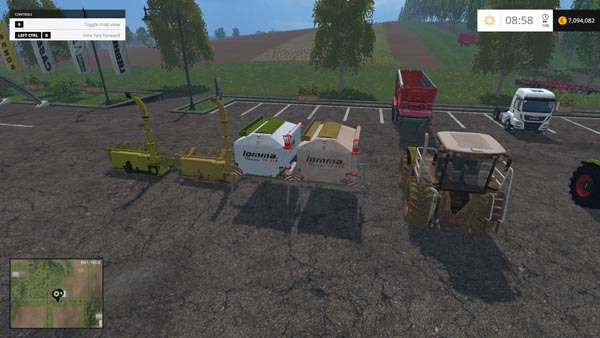 Claas Xerion S Trac
