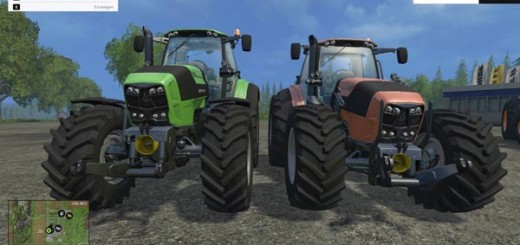Deutz Fahr 7250 Forest King