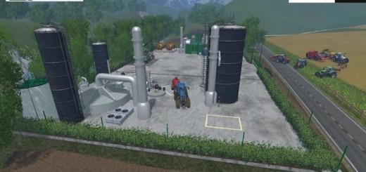 Factory for fertilizer feed diesel