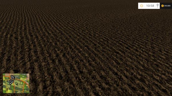 Ground textures hard wet
