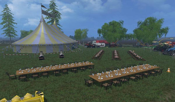 Hard and Party Tent