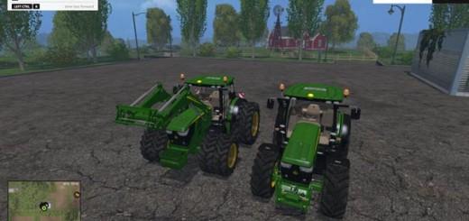 John Deere 6R FL Pack (Ploughing Spec)