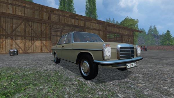Mercedes Benz 200D 1973