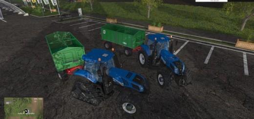 New Holland T8.320 und T8.435 SmartTrax
