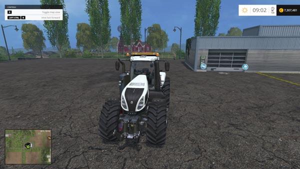 New Holland T8320 620 EvoX