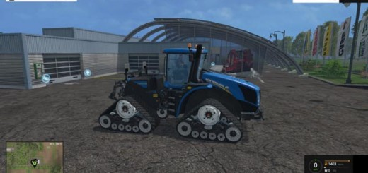 New Holland T9 670 SmartTrax