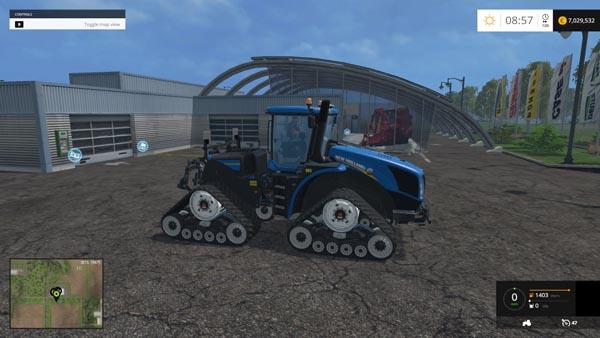 New Holland T9 670 SmartTrax