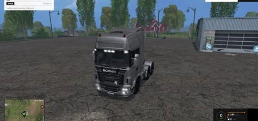Scania R 730 Silver