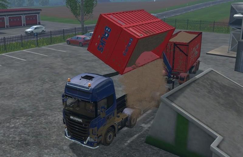 Scania R730 bruks