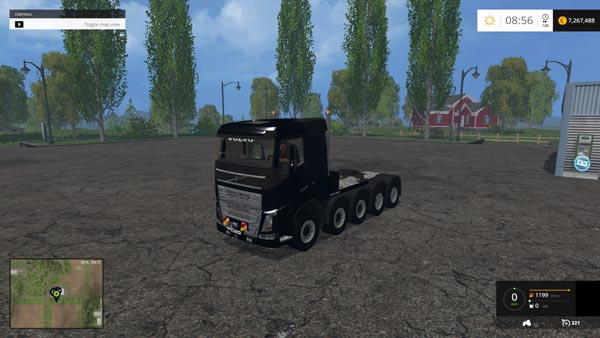 VOLVO 10X10 2200 HP