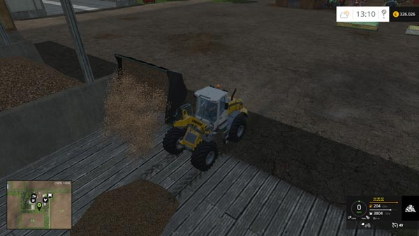 Wheelloadershovel