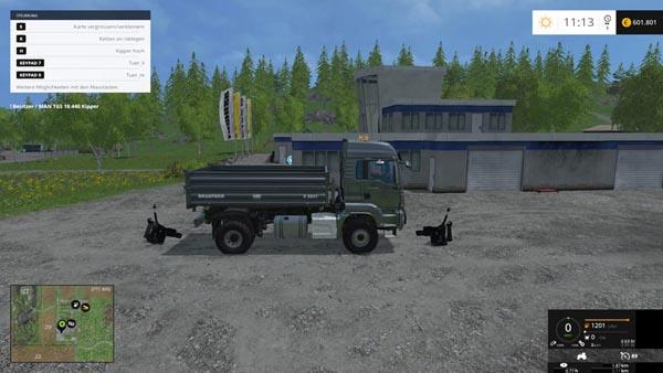 kaufbare Fronthydraulik v 1.0