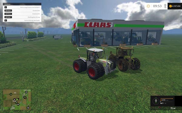 Claas Xerion 3800VC