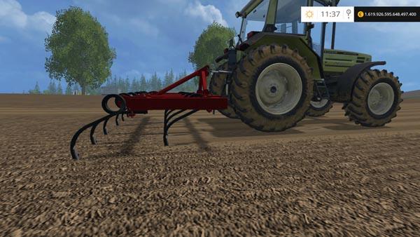 Cultivador de 11 brazos