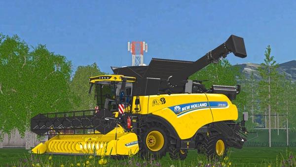 New Holland 7 meters header