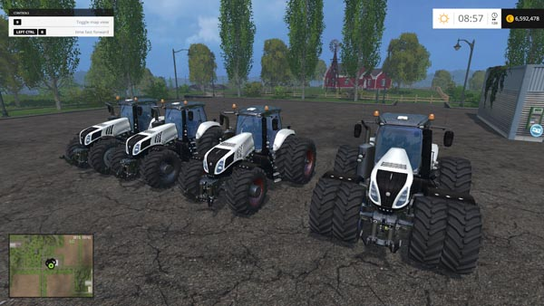 New Holland T8S 4 Pack Final Version
