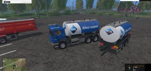Scania Tanker & trailer