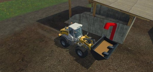 Wheel loader shovel