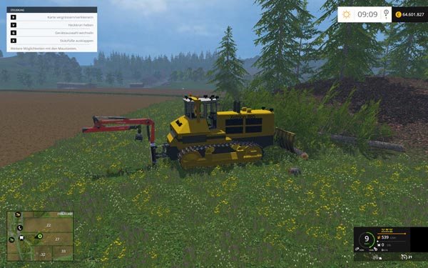 Xetrion 885 tracked tractors