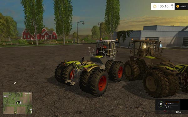 Xerion SaddleTrac3800