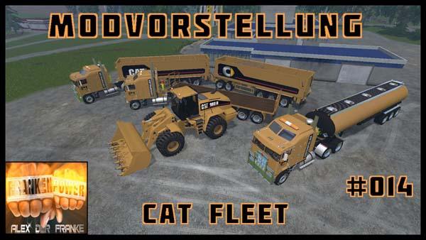 CAT Fleet 15 A