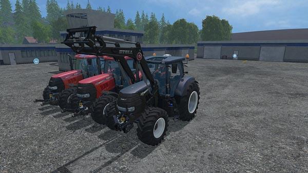 Case Puma 230 cvx front loader