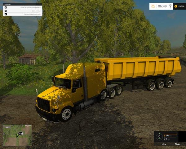 GAZ titanium with trailer