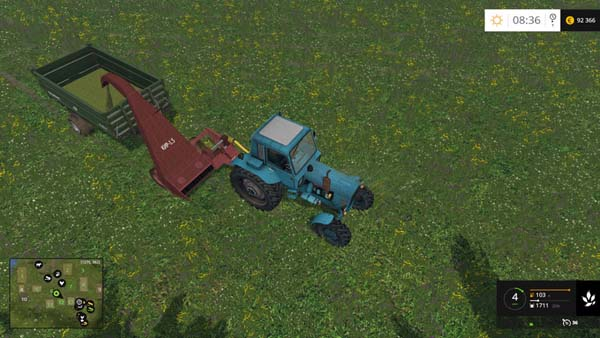 KIR 1.5 mower