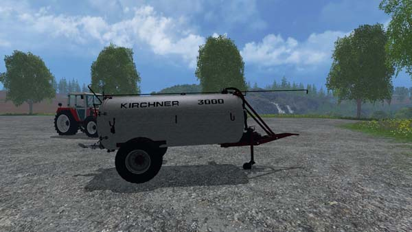 Kirchner 3000l Liquid manure spreader