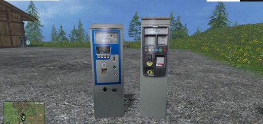 Parking ticket machines