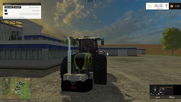 Claas weights