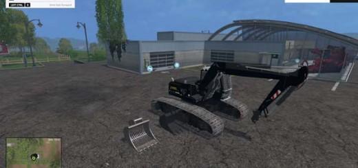 Liebherr 900C Apache Demolition