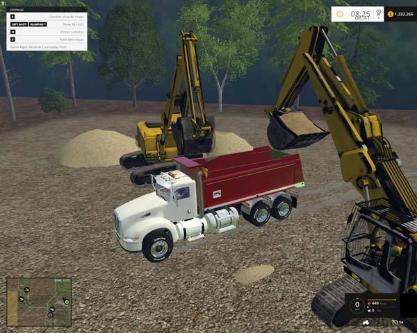 Peterbilt384 dump