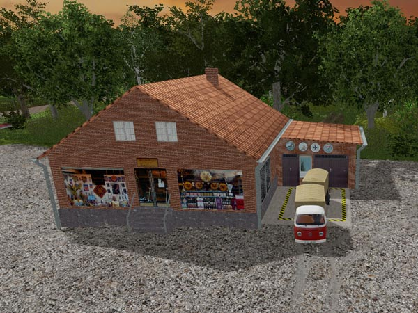 ROS Supermarket and shop