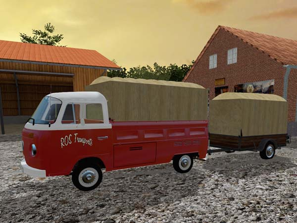 ROS VW Bus and Trailer