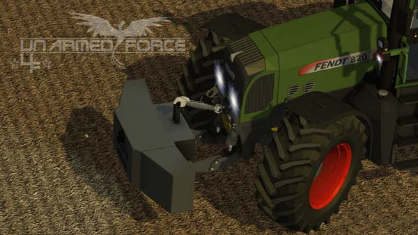 Self Made Fendt weight 1400kg