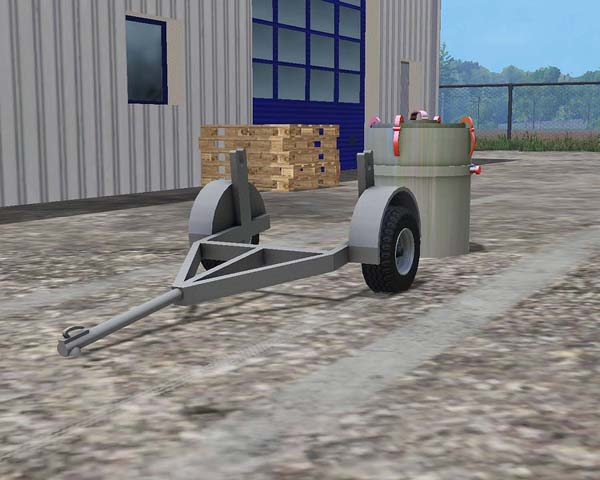 Small MILK TANK with trailer v 1.0
