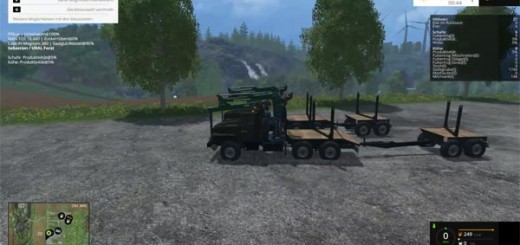 Trailer for URAL with adjustable attacher lenght
