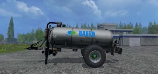 Bauer V90 slurry tanker
