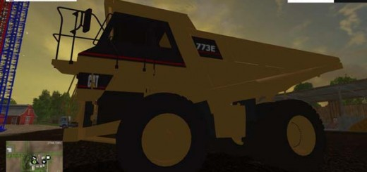 CAT 773F FOR MINING