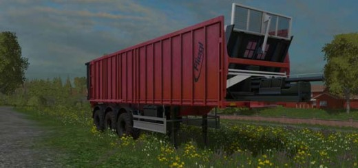 Fliegl tridem trailer