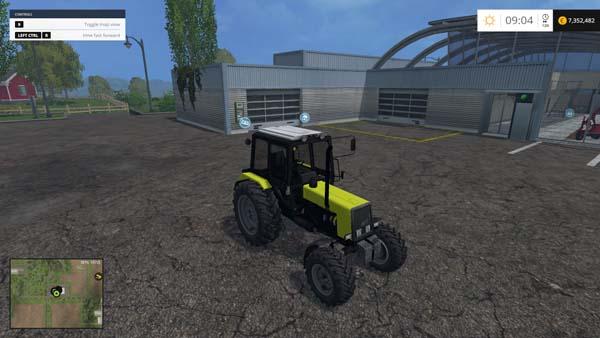 MTZ 1025 Yellow
