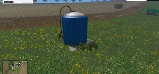 Placeable Fertilizer Tank
