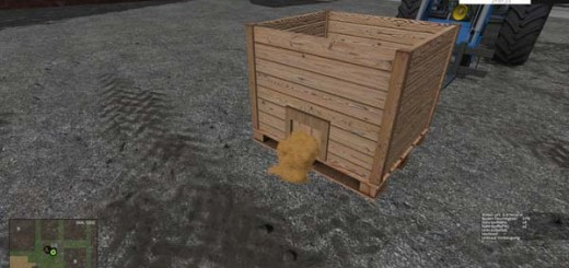 Seed crate