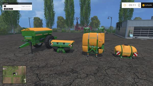 Amazone fertilizer lime