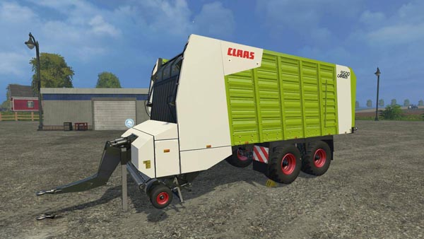 Claas Cargos 9500 4 Wheels Chassis