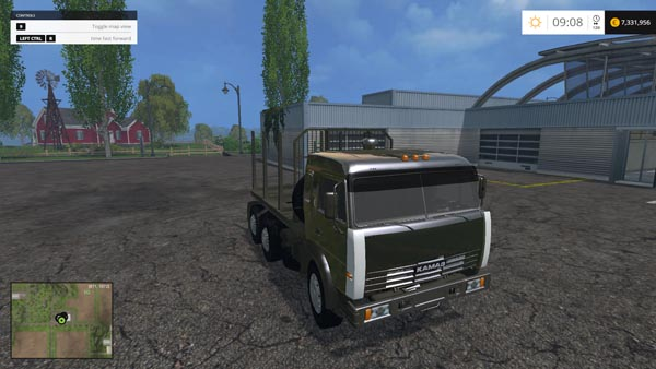 Kamaz 54115 Forest